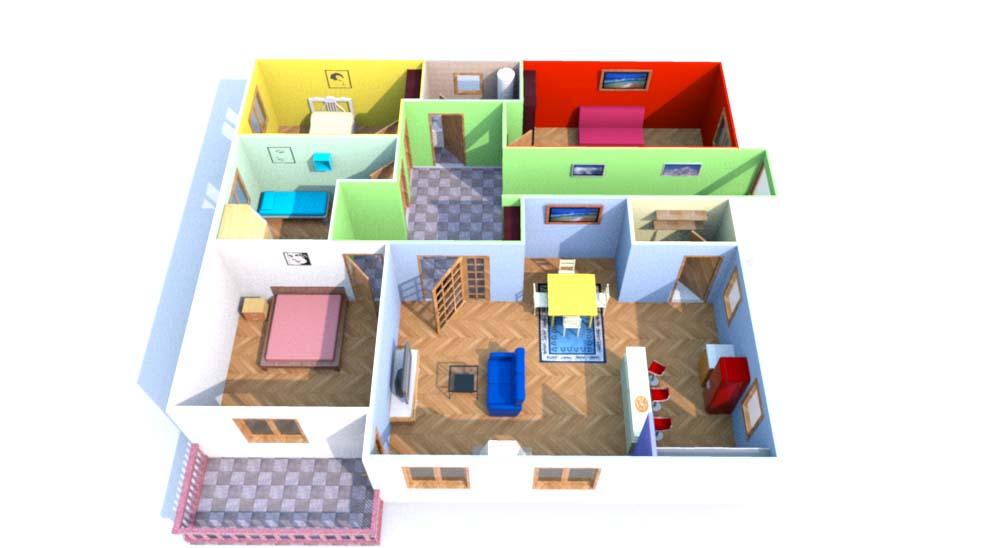 osnova kuće