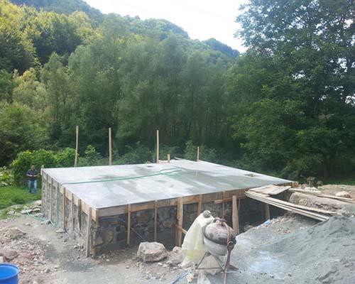 betonski temelj